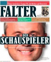 Jahresabo der Wochenzeitung FALTER, EUR 99,- statt EUR 125,-