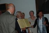 Goldenes Diplom für sub auspiciis Promovenden